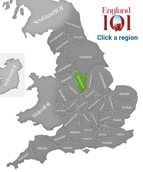 Map Of England Derbyshire.Derbyshire England The Most English Of All Counties England 101