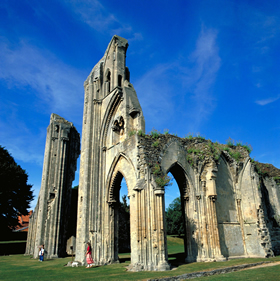 Abbey ruins, Glastonbury