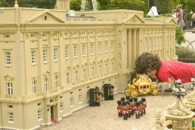 Buckingham Palace in Lego