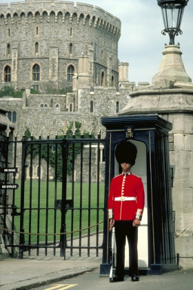 Grenadier guard at Windsor Castle