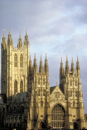 The Cathedral in the Evening light, Canterbury
