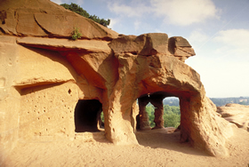 Ancient Cave Dwellings, Kinver Edge