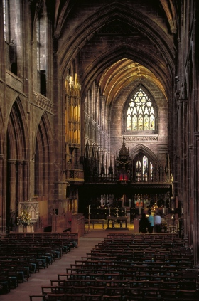 Interior of Chester Cathedral