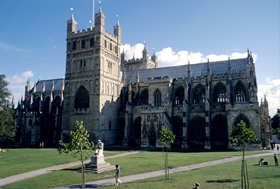 devon exeter cathedral