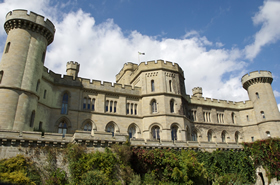 The 19th century Eastnor Castle