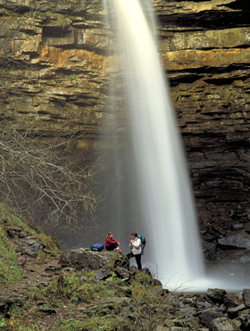 Hardraw force, Hawes, North Yorkshire