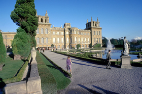 The North West Front of the Palace, Blenheim