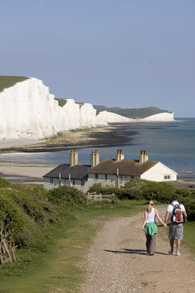 The Seven Sisters in East Sussex.