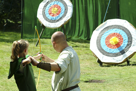 Robin Hood Festival in Sherwood Forest