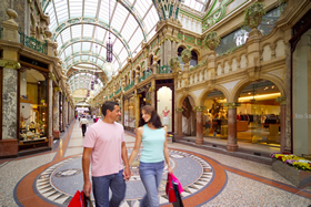 Victoria Quarter in Leeds