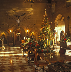 Great Hall at Warwick Castle