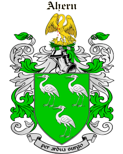 AHERN family crest
