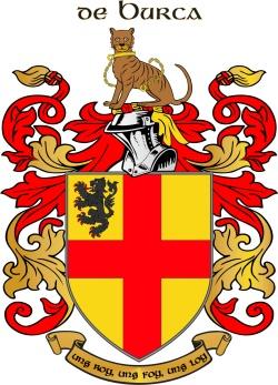 BURKE family crest