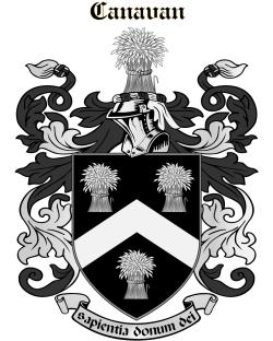 CANAVAN family crest
