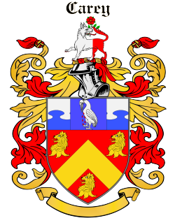 Carry family crest