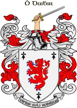 DWYER family crest