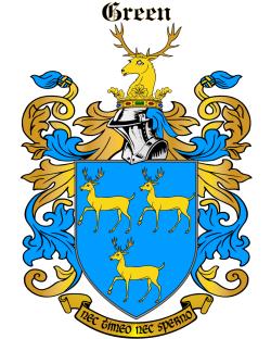 Grene family crest