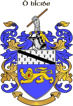HICKEY family crest