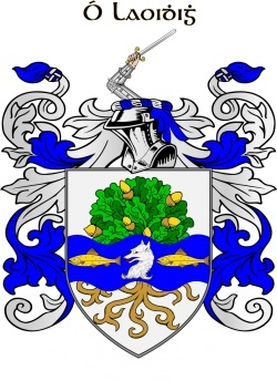 LEIGH family crest