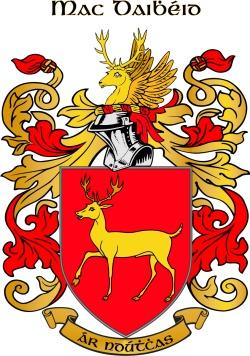 MCDEVITT family crest