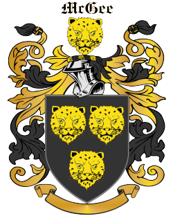 MCGEE family crest