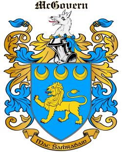 MCGOVERN family crest