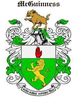 MCGUINNESS family crest