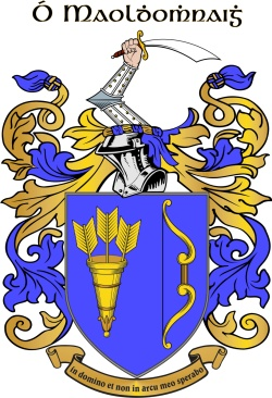 MOLONEY family crest