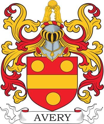 Avery family crest