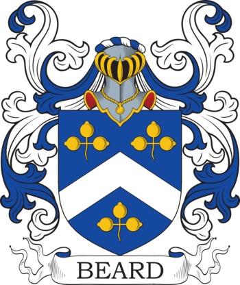 BEARD family crest