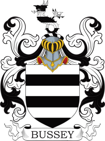 BUSSEY family crest