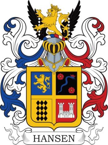 HANSEN family crest