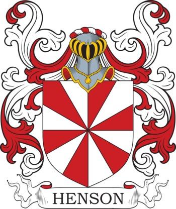 HENSON family crest