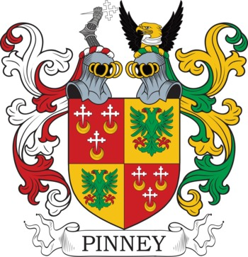 PINNEY family crest