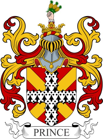 PRINCE family crest