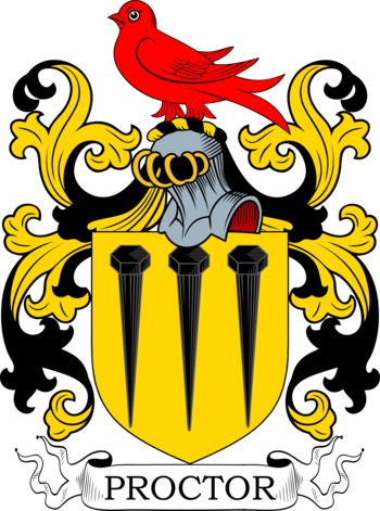 PROCTOR family crest