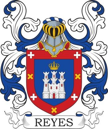 Reyes family crest
