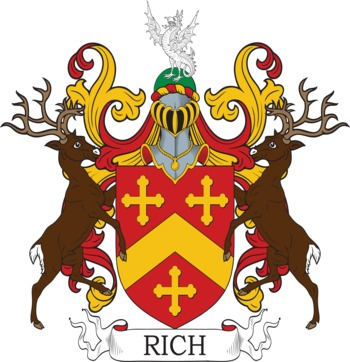 RICH family crest