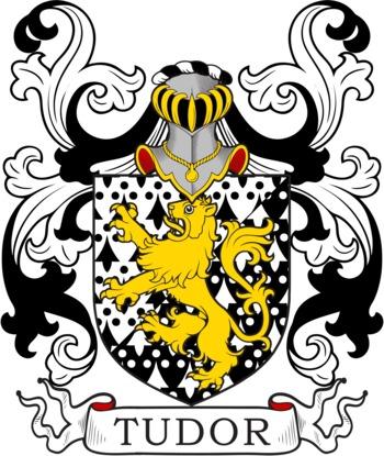 TUDOR family crest