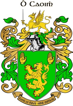 OKEEFE family crest