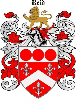 Reede family crest