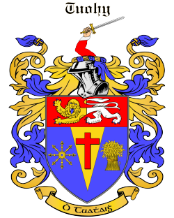 TUOHY family crest