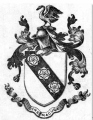 Arms and Motto of Devon Cary at Whitecastle Donegal and Guernsey Carey family